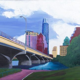Ann RIchards Bridge painting