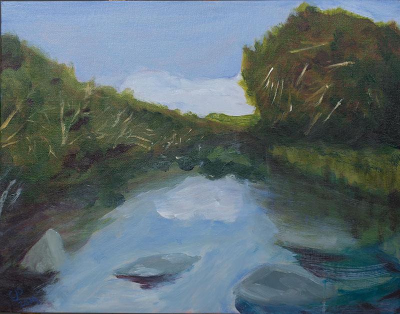 Barton Creek West painting