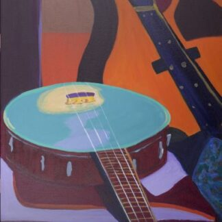 Musical instruments Skoob theme painting