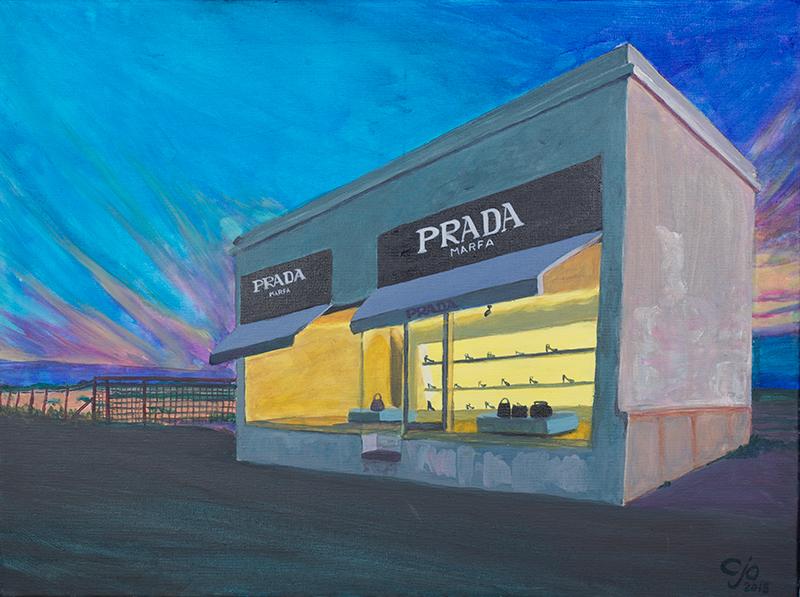 Parda Marfa painting