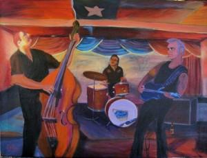 Dale Watson painting