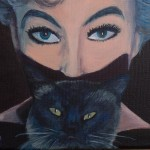 Gillian Pyewacket original painting
