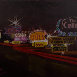 The Strip painting