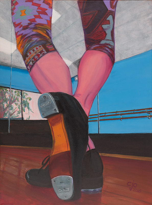 Tap Shoes painting art by CJO