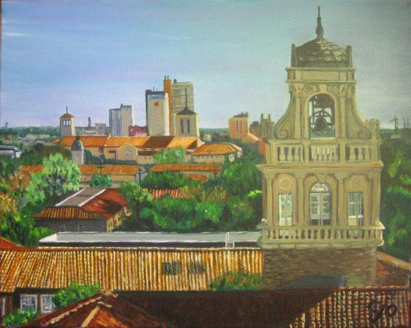 Lubbock Skyline