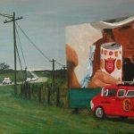 Sugarland Express painting