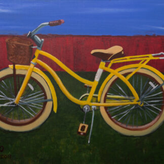 Yellow Bike painting by CJO