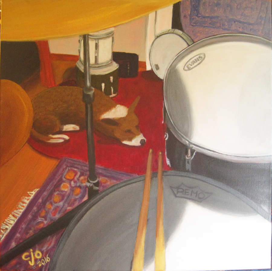 Drums painting