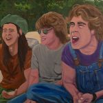 Dazed and Confused Boys painting