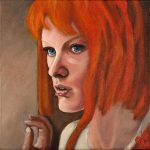 Leeloo painting